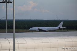 KLIA2の白い機体