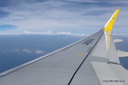 バニラエア 機内からの眺め