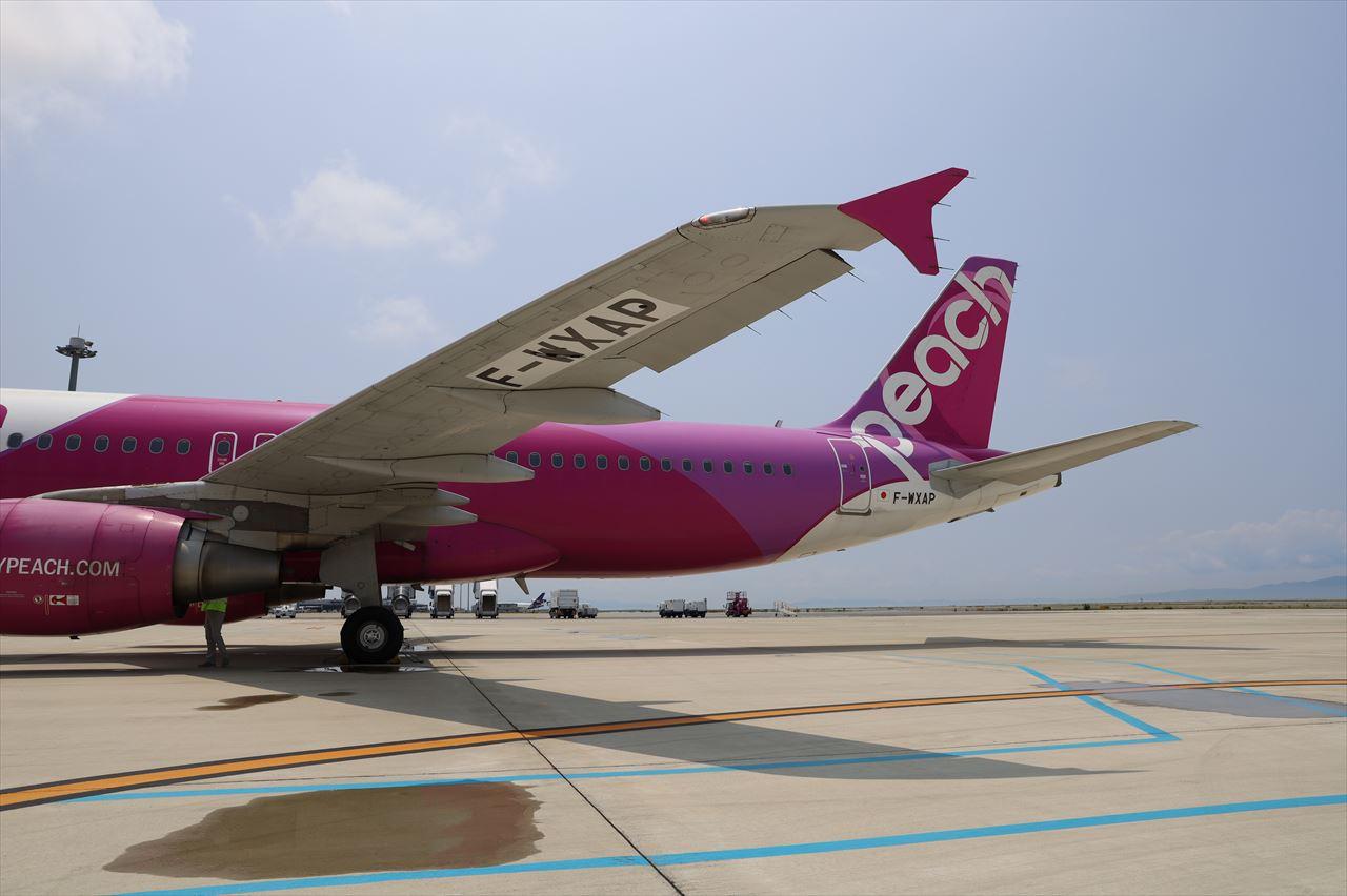 機体には新しい登録番号の F-WXAPが記されていた