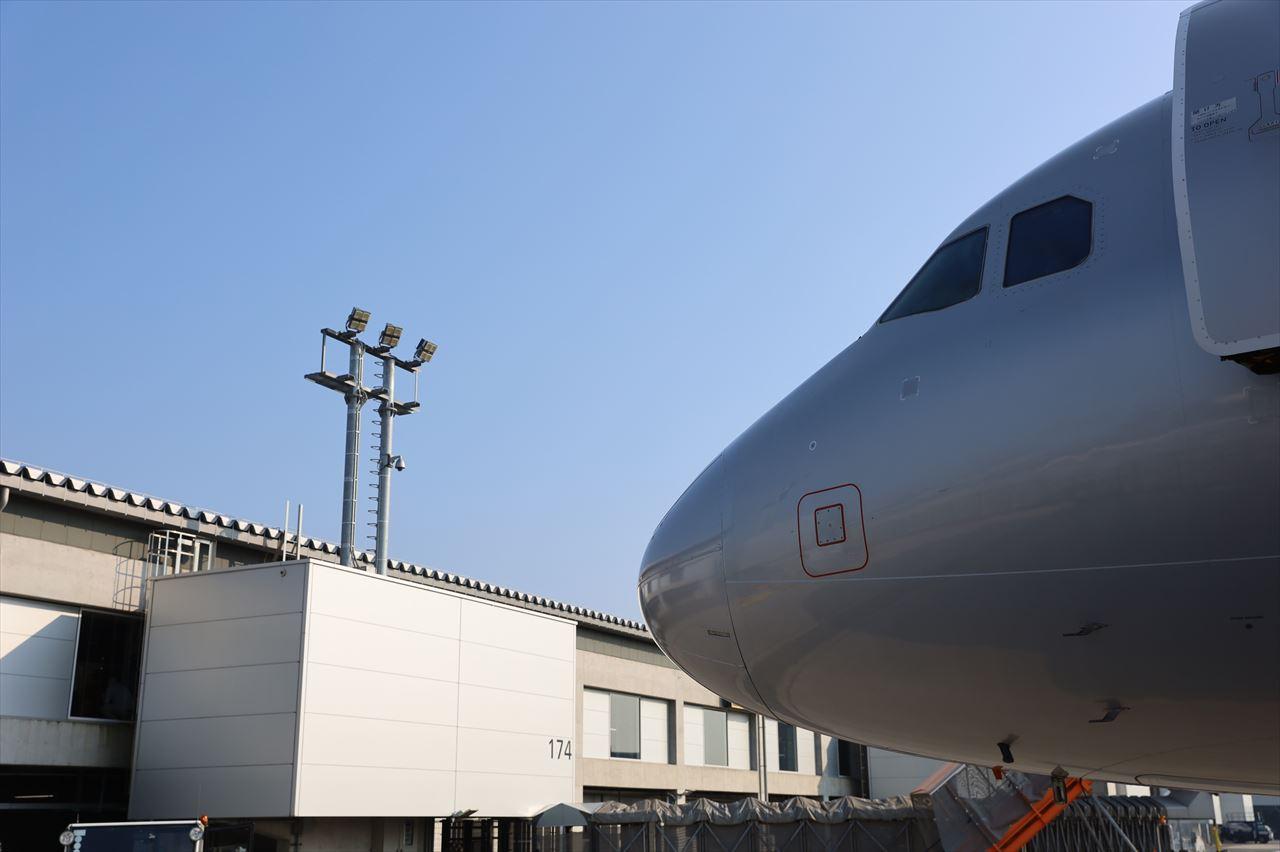 GK776便が成田に到着