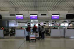 香港エクスプレス航空 カウンター