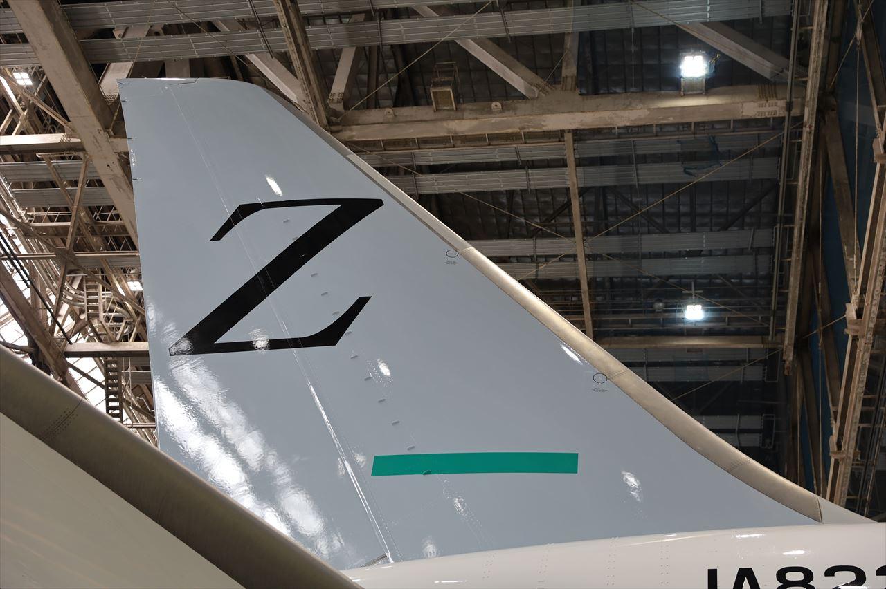 ZIPAIR 1号機 JA822J