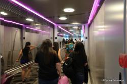 シンガポール 降車
