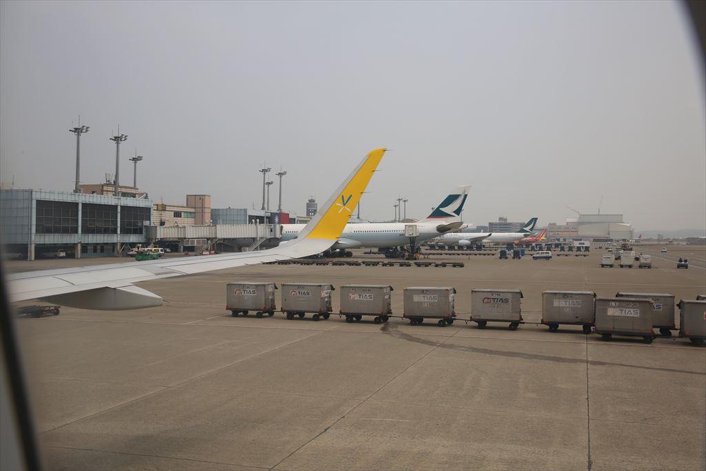 台湾桃園国際空港に到着!