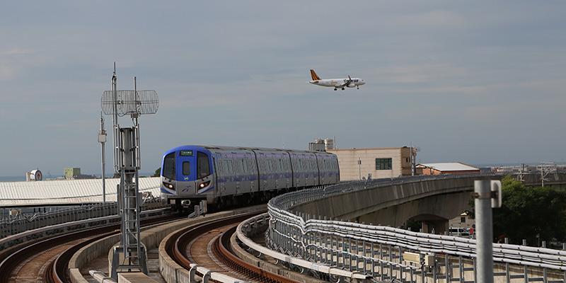 MRT機場線とタイガーエア台湾