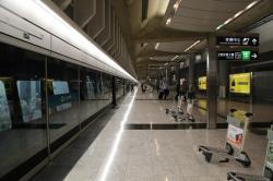 機場快線 機場駅 第2ターミナル側ホーム