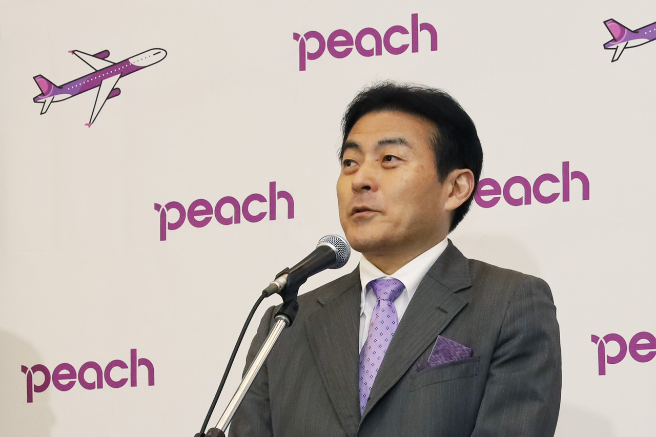 ピーチ取締役副社長 森健明氏