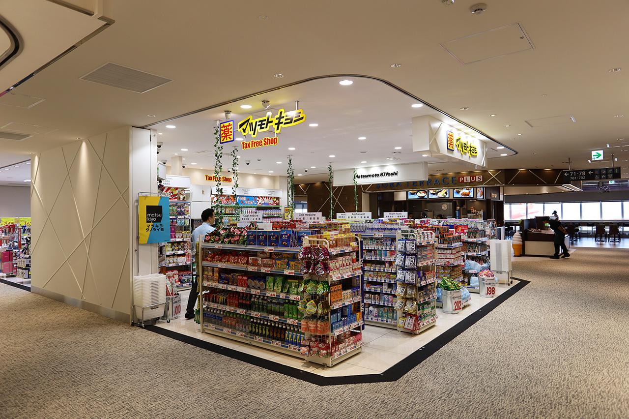 第2ターミナル 国際線 マツモトキヨシ