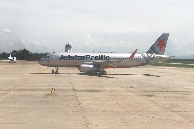 Jetstar Pacific A320型機