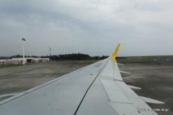 バニラエア 奄美空港出発