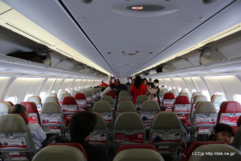 タイエアアジアX 機内