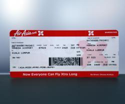 エアアジア 搭乗券