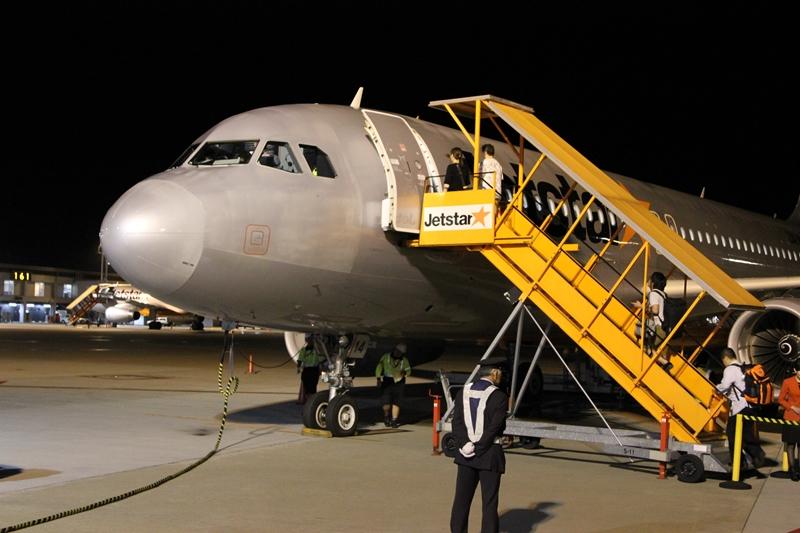 GK35搭乗開始