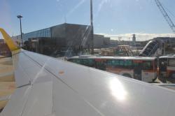 バニラエア JW802 成田空港に到着