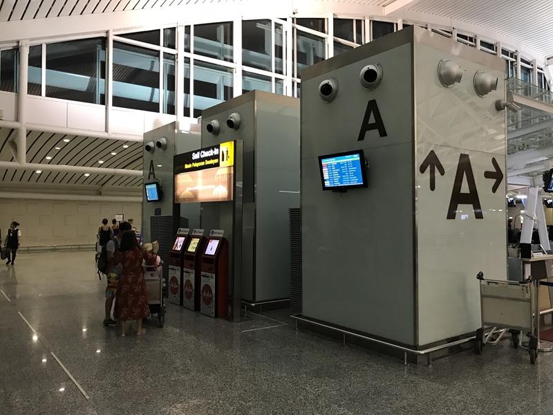 デンパサール空港 カウンターA
