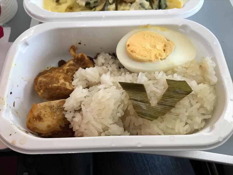 エアアジア・ジャパン 機内食 ナシレマ