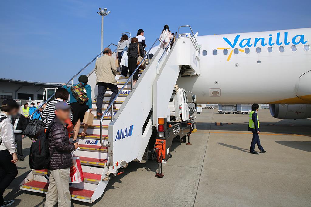 JW151初便が福岡空港を出発