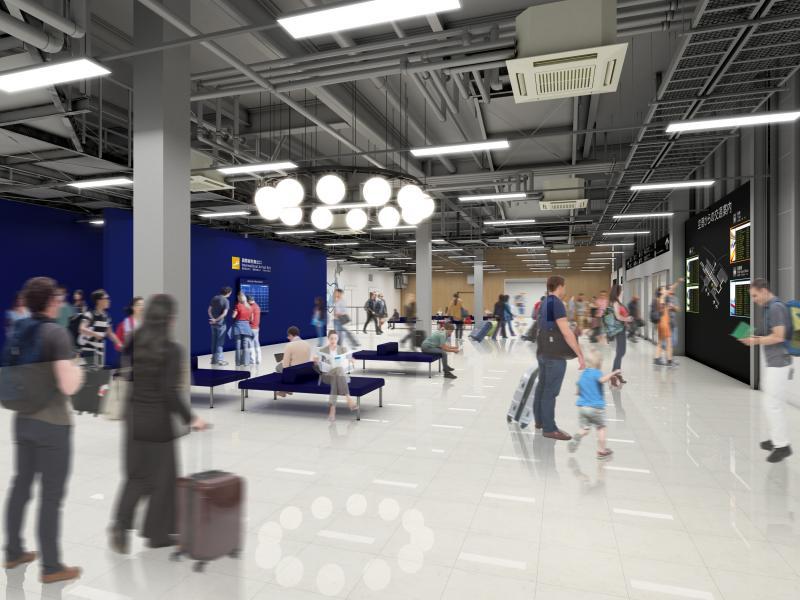 centrair 第2ターミナル 施設内イメージ