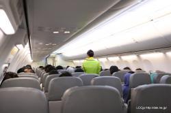 春秋航空日本 機内