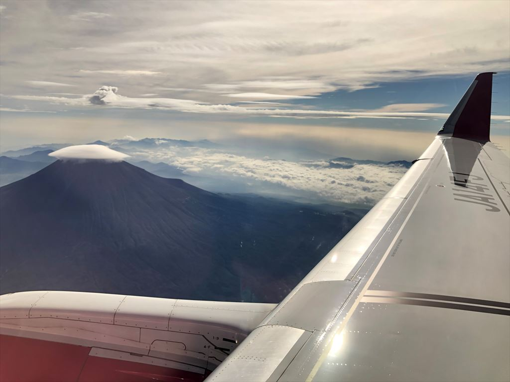FDA 富士山遊覧フライト イメージ