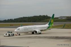 春秋航空日本 B737-800 広島空港