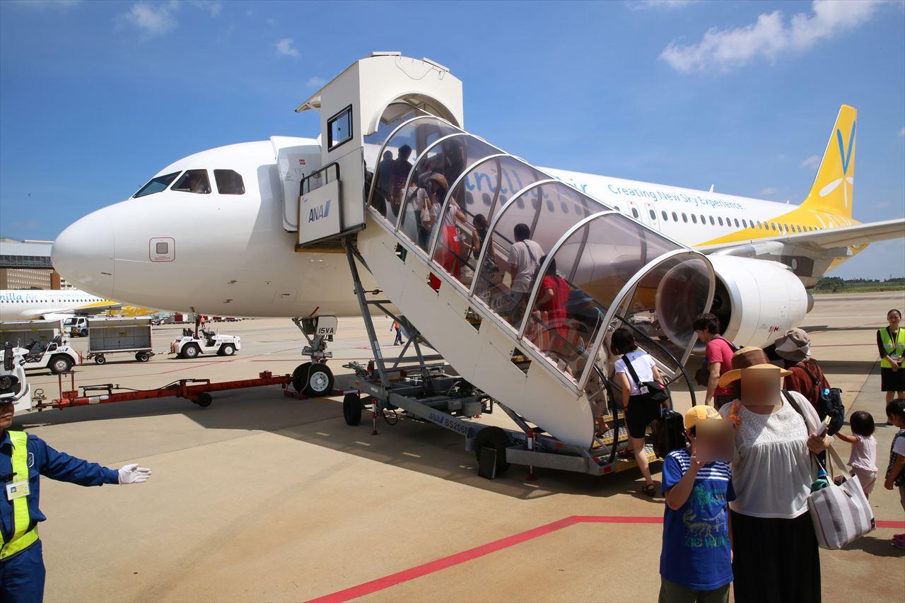 JW811初便に搭乗