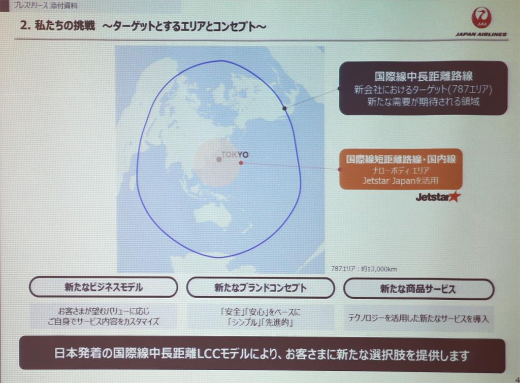 JAL設立の新LCC 就航エリア候補