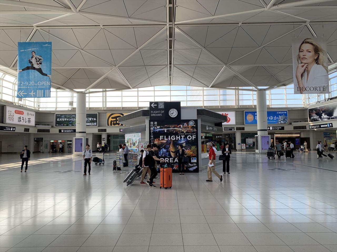 中部国際空港駅 正面 アクセスプラザ