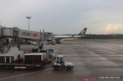 シンガポールに到着