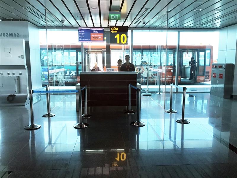 ダナン国際線10番搭乗ゲート