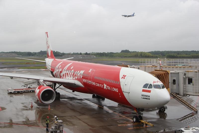 インドネシア・エアアジアX エアバスA330-300型機