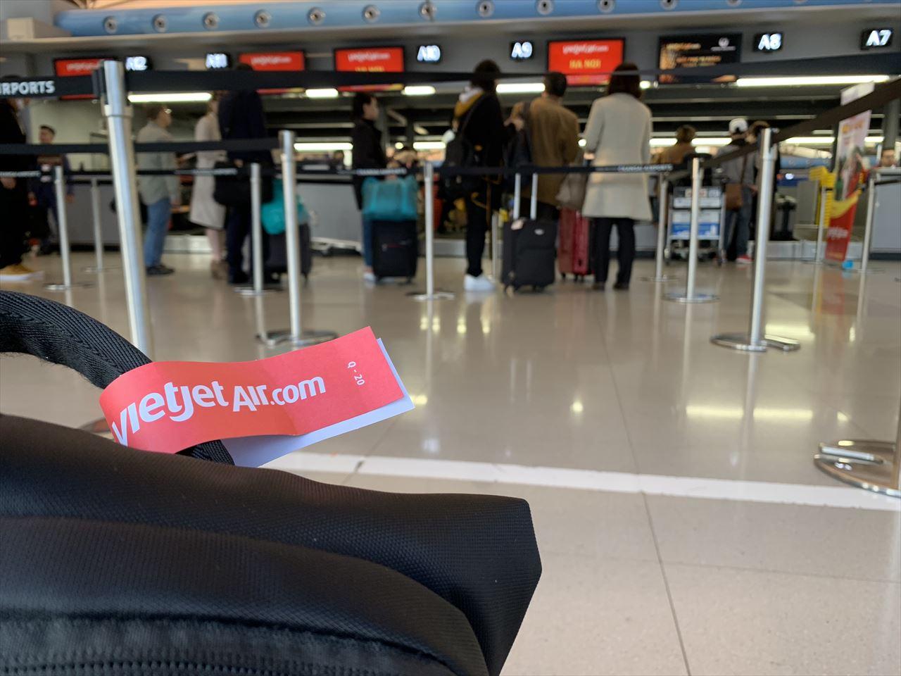 ベトジェットエア 機内手荷物制限もクリア