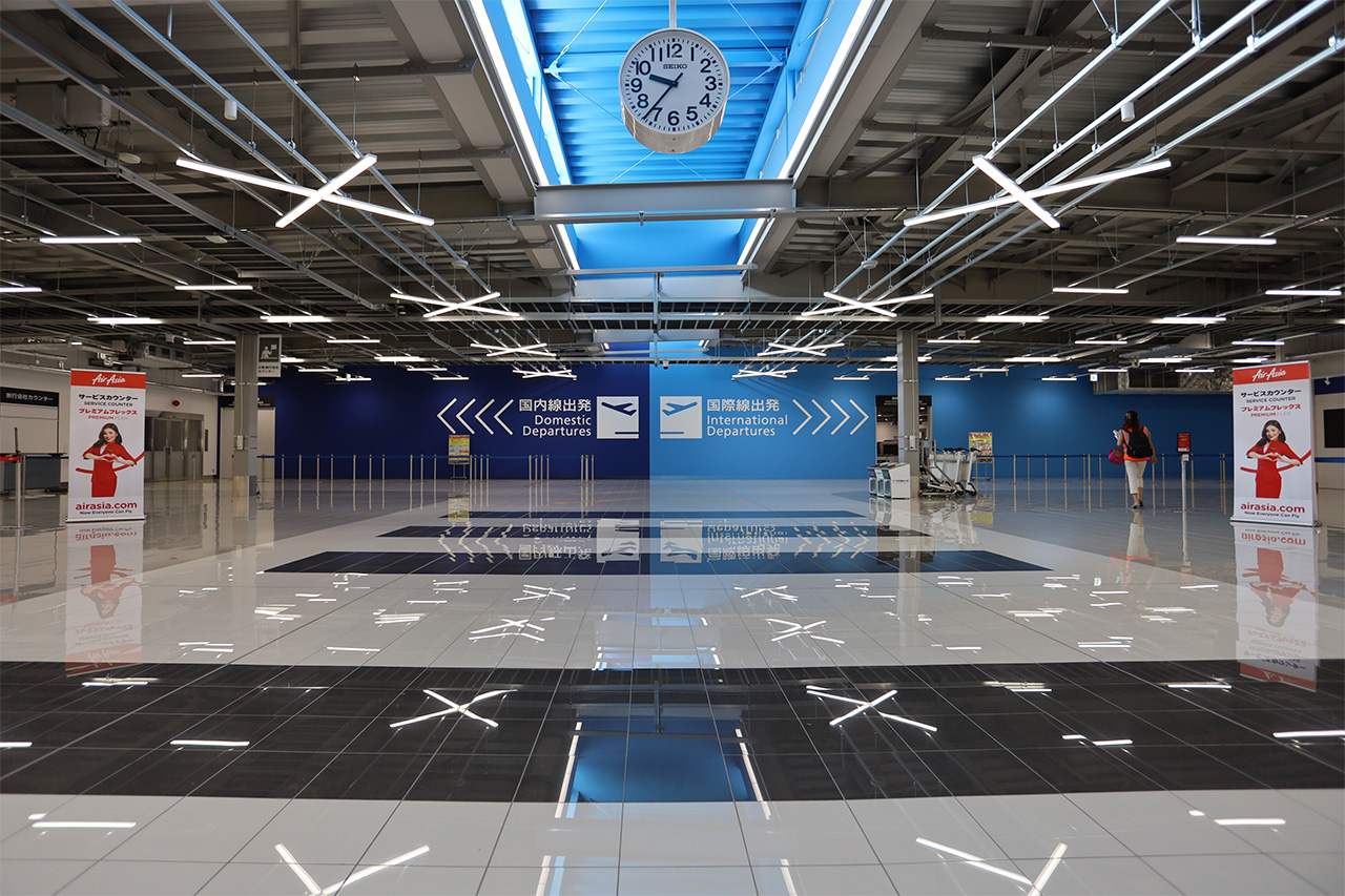 中部国際空港 第2ターミナル チェックインフロア