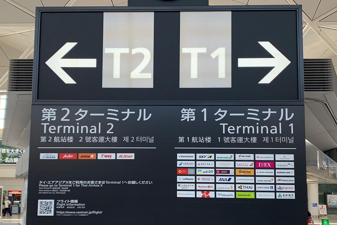 アクセスプラザ ターミナル案内板