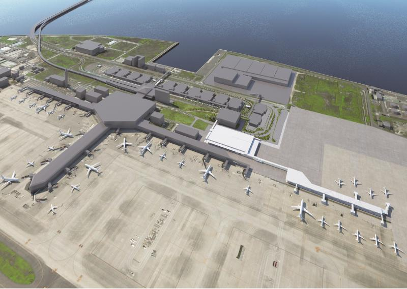 centrair 第2ターミナル 全景