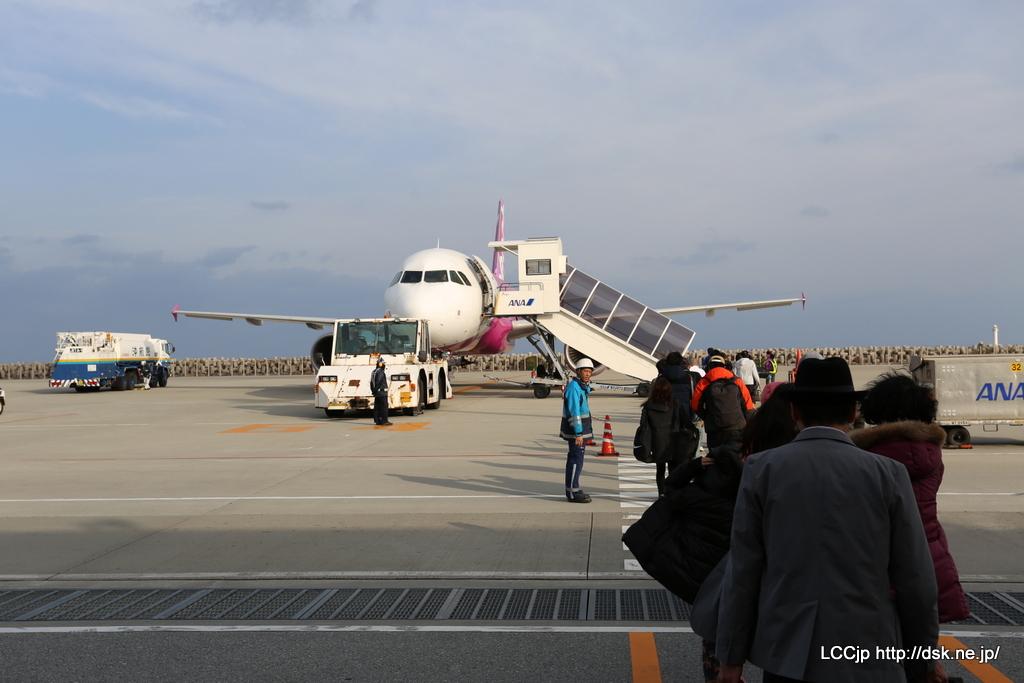 ピーチ MM921 搭乗開始