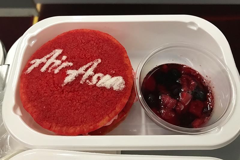 エアアジア・ジャパン 機内食 REDパンケーキ