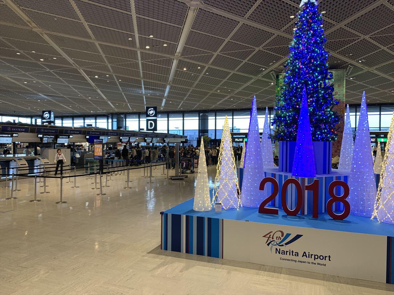 クリスマスイルミネーションの成田1タミ