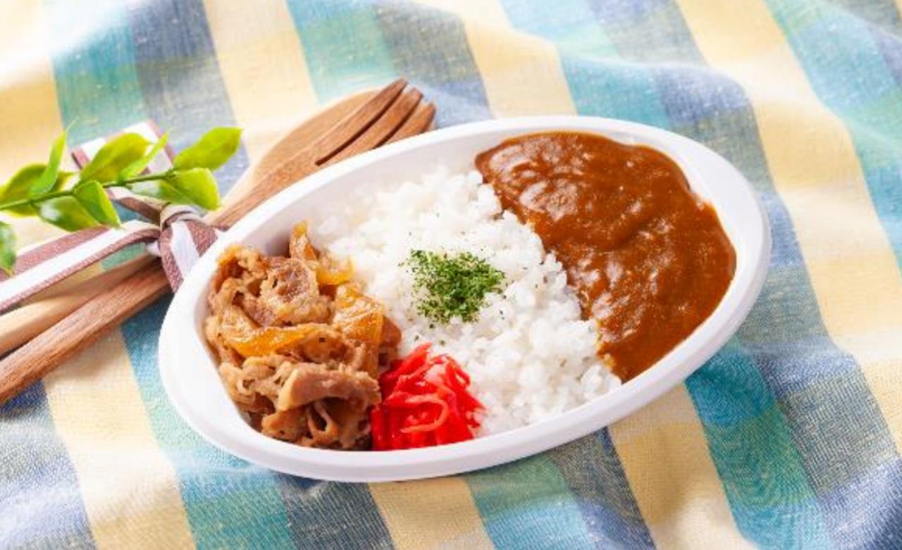 VanillaAir 機内食 牛丼カレー