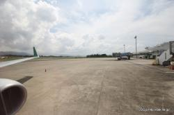 高松空港 春秋航空日本 機内からの眺め
