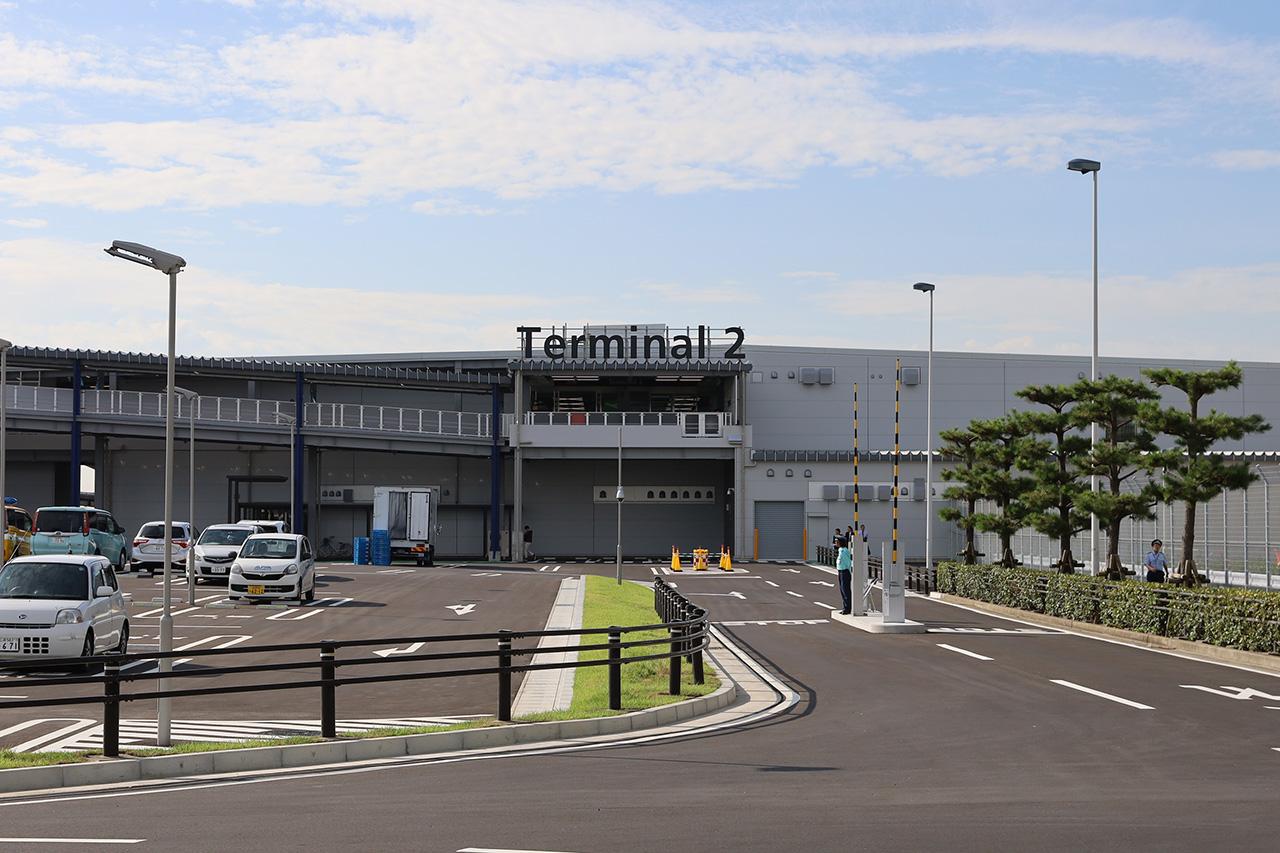 中部国際空港 第2ターミナル外観