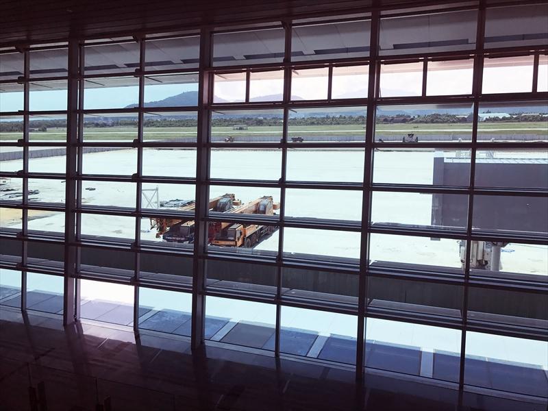ダナン空港第2ターミナルは未だ工事中