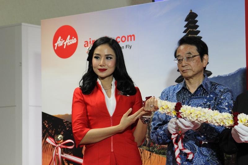 インドネシアエアアジアX CAさん