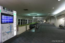 那覇空港 人気のない搭乗エリア