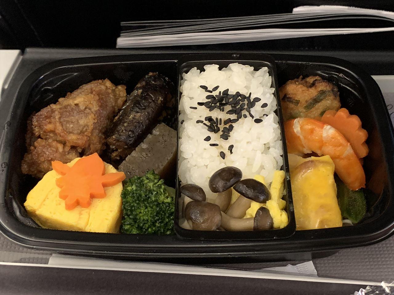 スターフライヤー 国際線 機内食(北九州線)