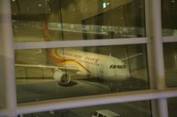 香港エクスプレス航空 機材到着