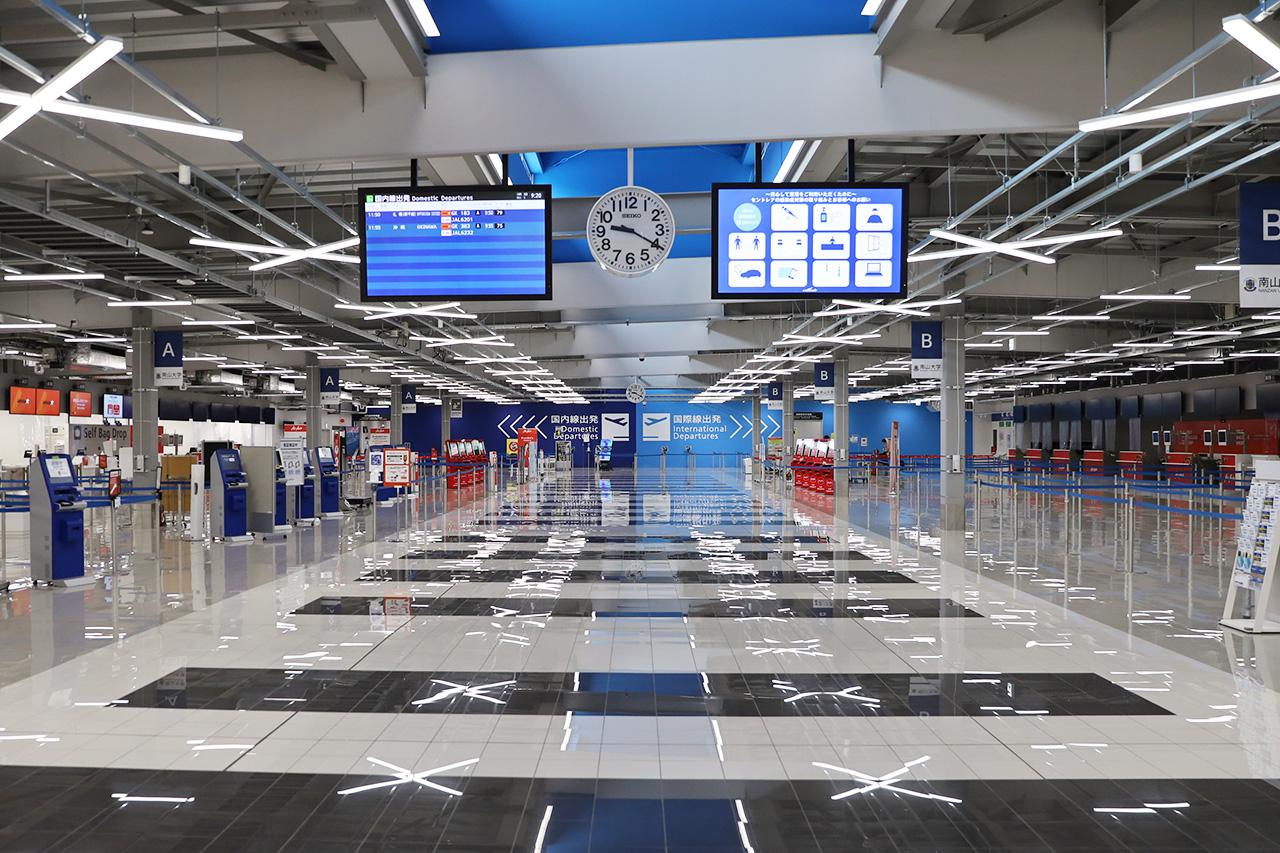 閑散とする中部空港T2 2020年10月5日撮影