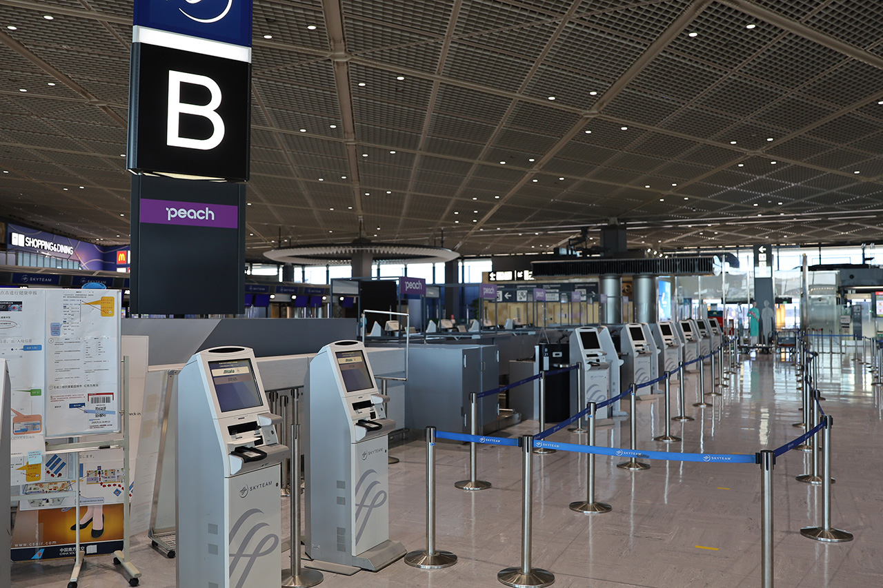 成田T1北B 10月26日から国際線の運航も再開する