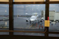 バニラエア 搭乗機が到着しました
