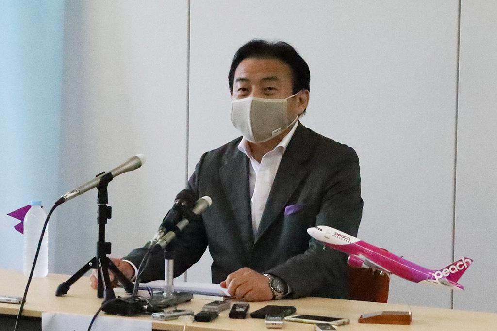 ピーチ代表取締役CEO 森健明氏